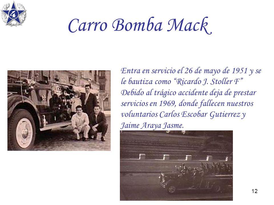 Carro Bomba Mack