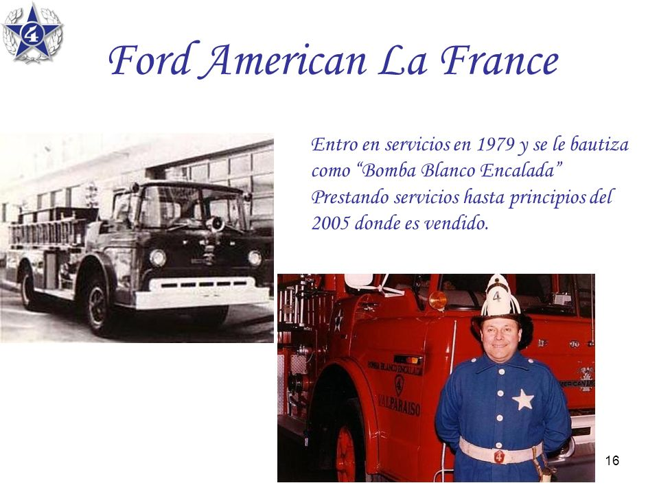 Ford American La France