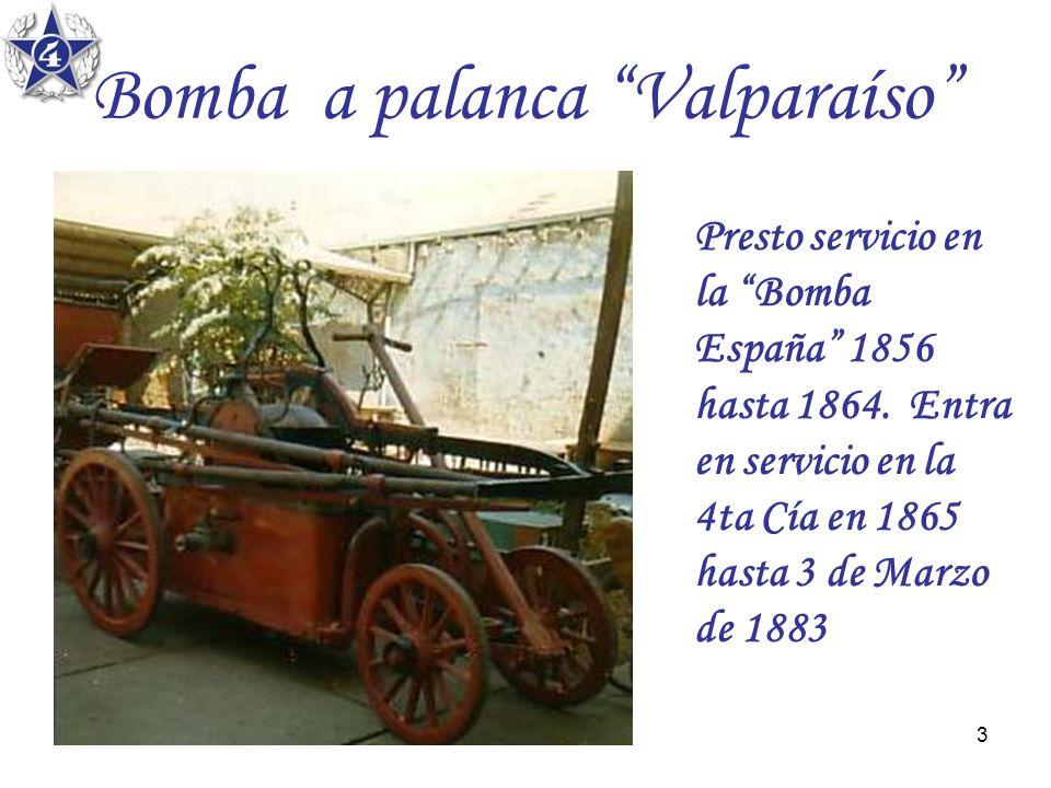 Bomba a palanca Valparaíso