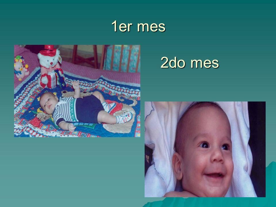 1er mes 2do mes Recién nacido