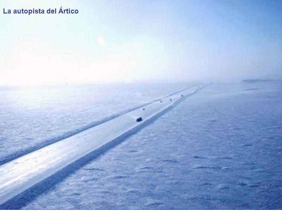 La autopista del Ártico