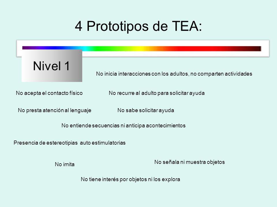 4 Prototipos de TEA: Nivel 1