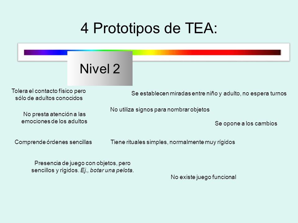 4 Prototipos de TEA: Nivel 2