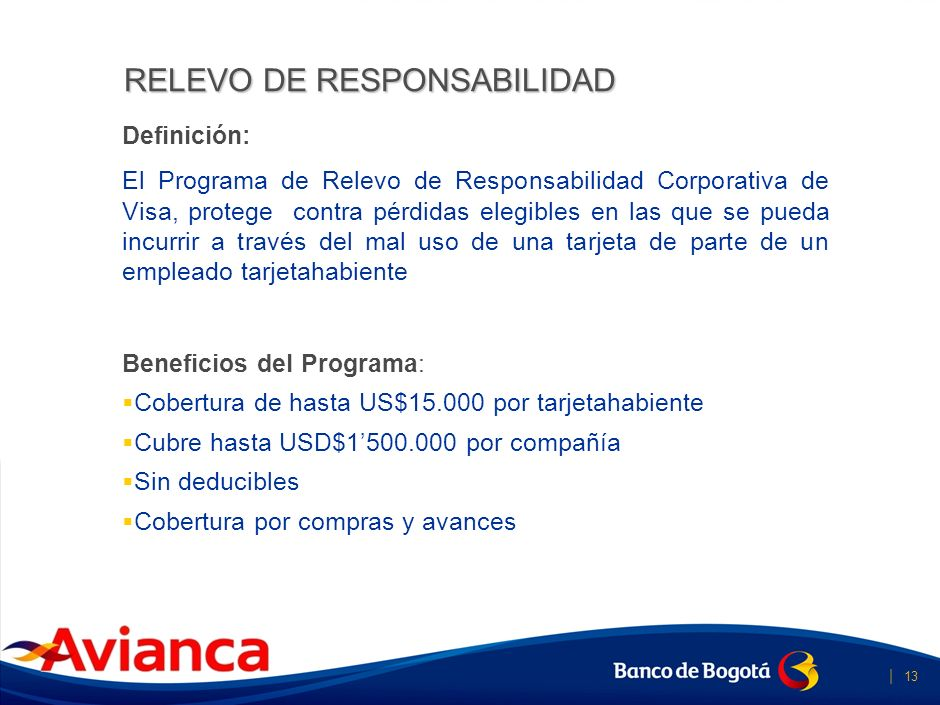 RELEVO DE RESPONSABILIDAD
