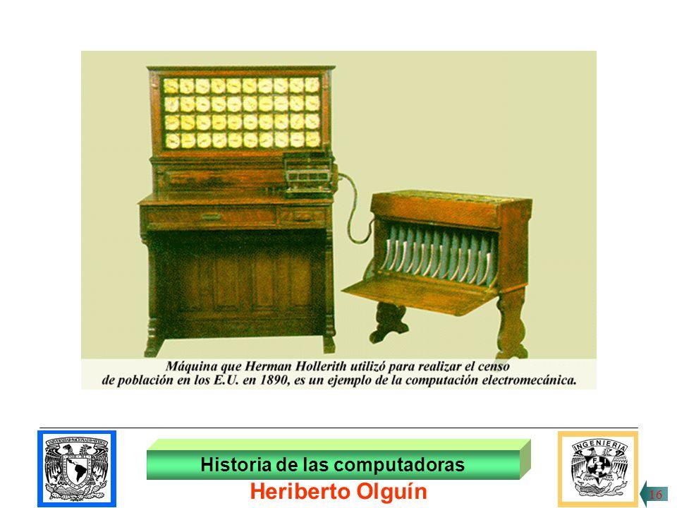 Historia de las computadoras