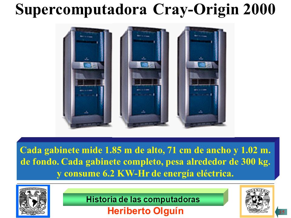 Supercomputadora Cray-Origin 2000
