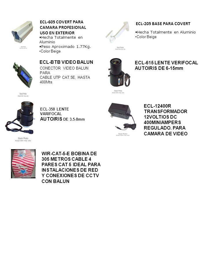 ECL-605 COVERT PARA CAMARA PROFESIONAL USO EN EXTERIOR