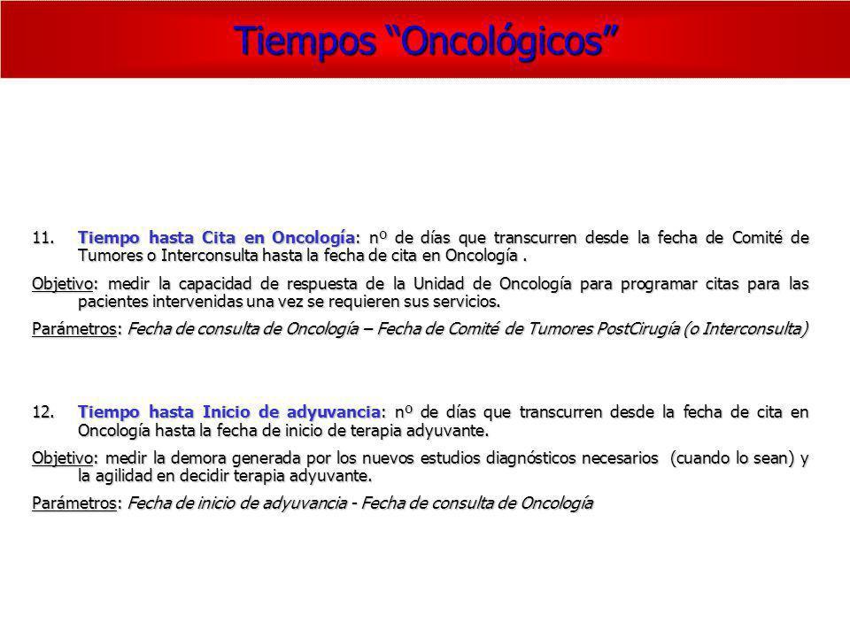 Tiempos Oncológicos