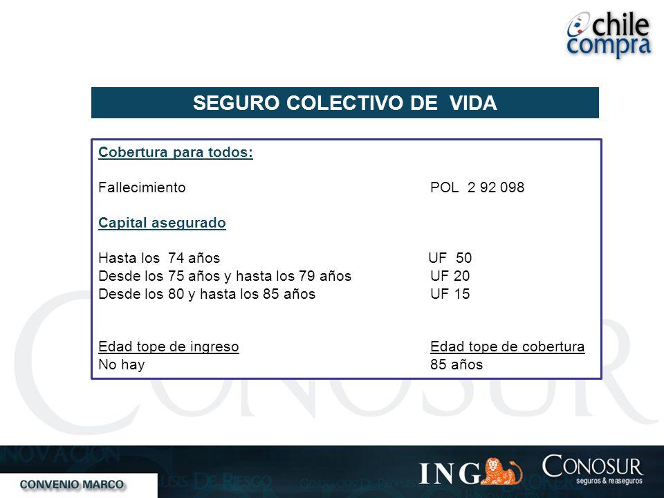 SEGURO COLECTIVO DE VIDA