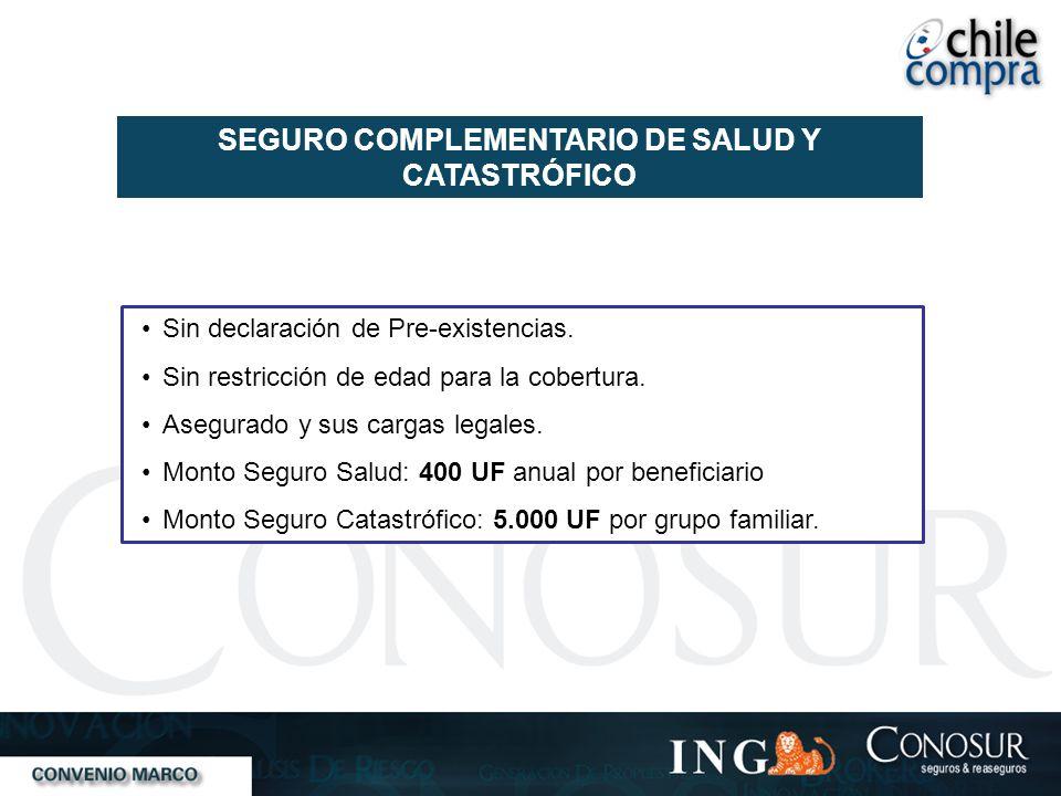 SEGURO COMPLEMENTARIO DE SALUD Y CATASTRÓFICO