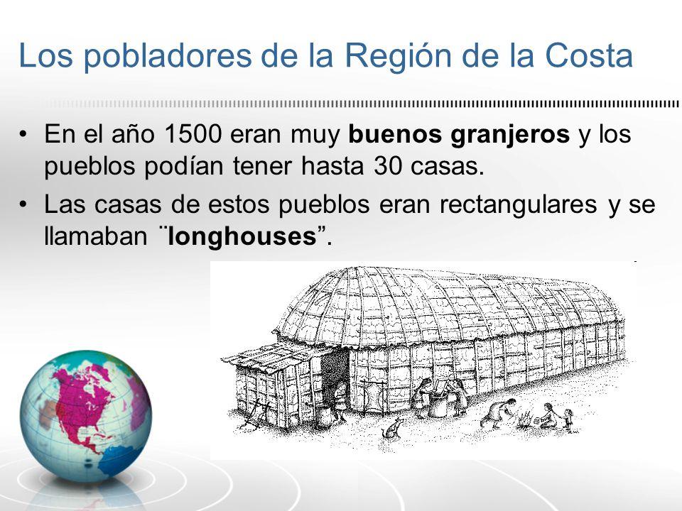 Los pobladores de la Región de la Costa