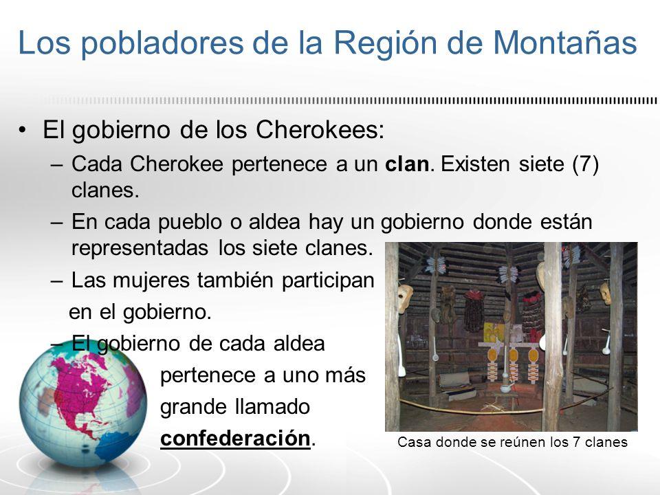 Los pobladores de la Región de Montañas