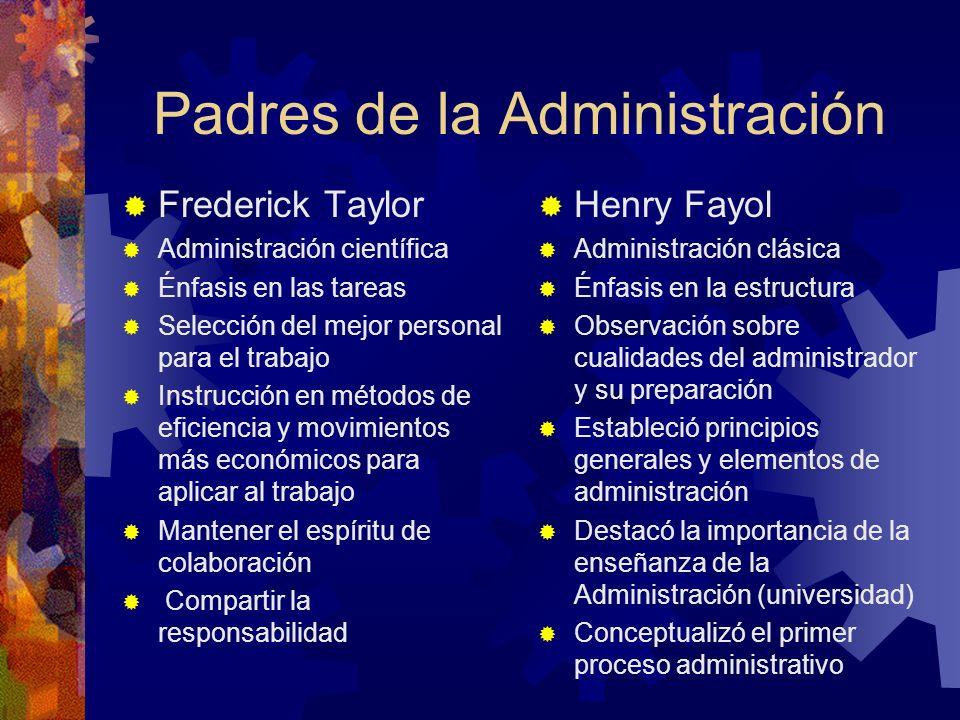 Padres de la Administración