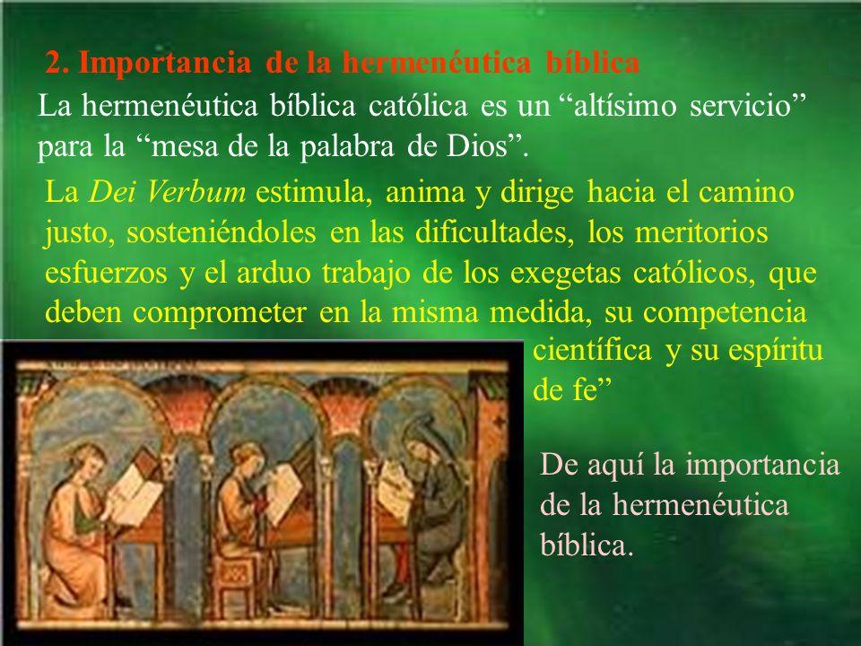 2. Importancia de la hermenéutica bíblica