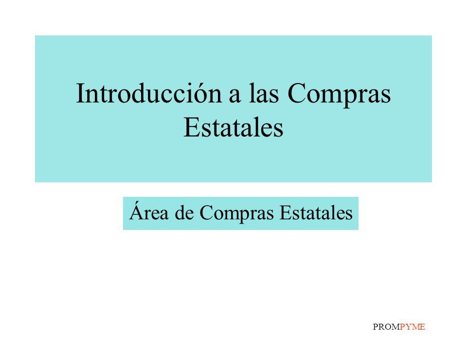 Introducción a las Compras Estatales