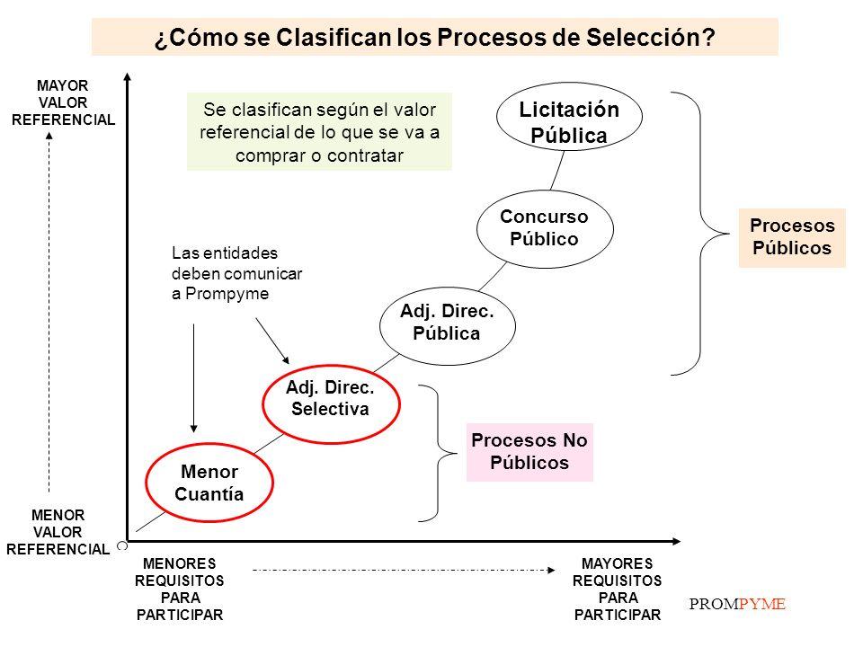 ¿Cómo se Clasifican los Procesos de Selección