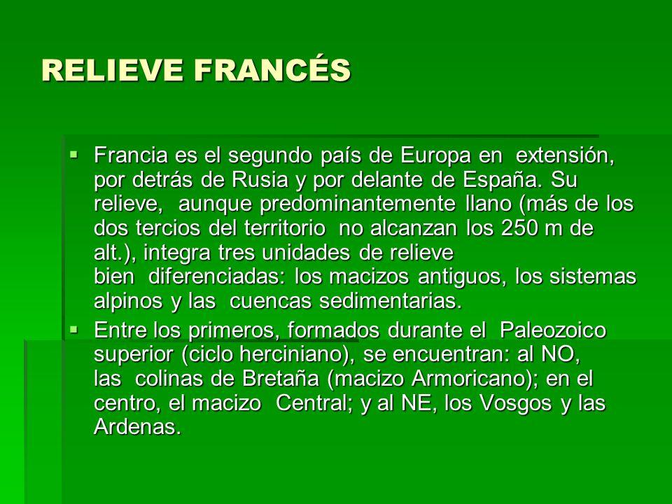 RELIEVE FRANCÉS
