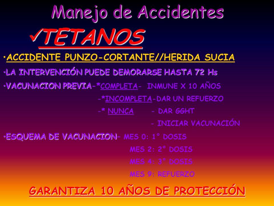 GARANTIZA 10 AÑOS DE PROTECCIÓN