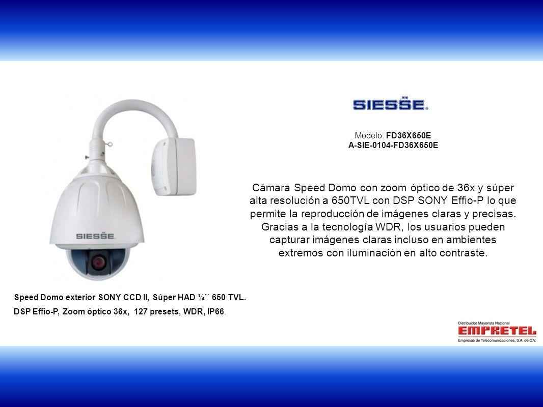 Modelo: FD36X650E A-SIE-0104-FD36X650E.