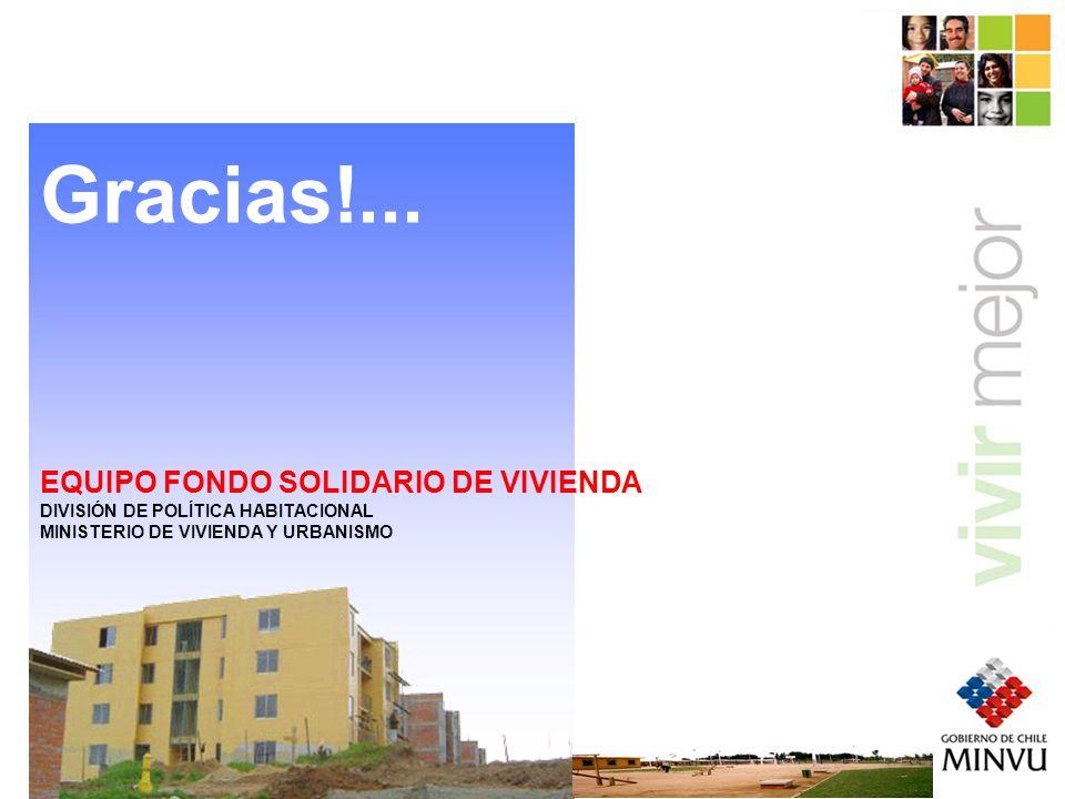Gracias!... EQUIPO FONDO SOLIDARIO DE VIVIENDA