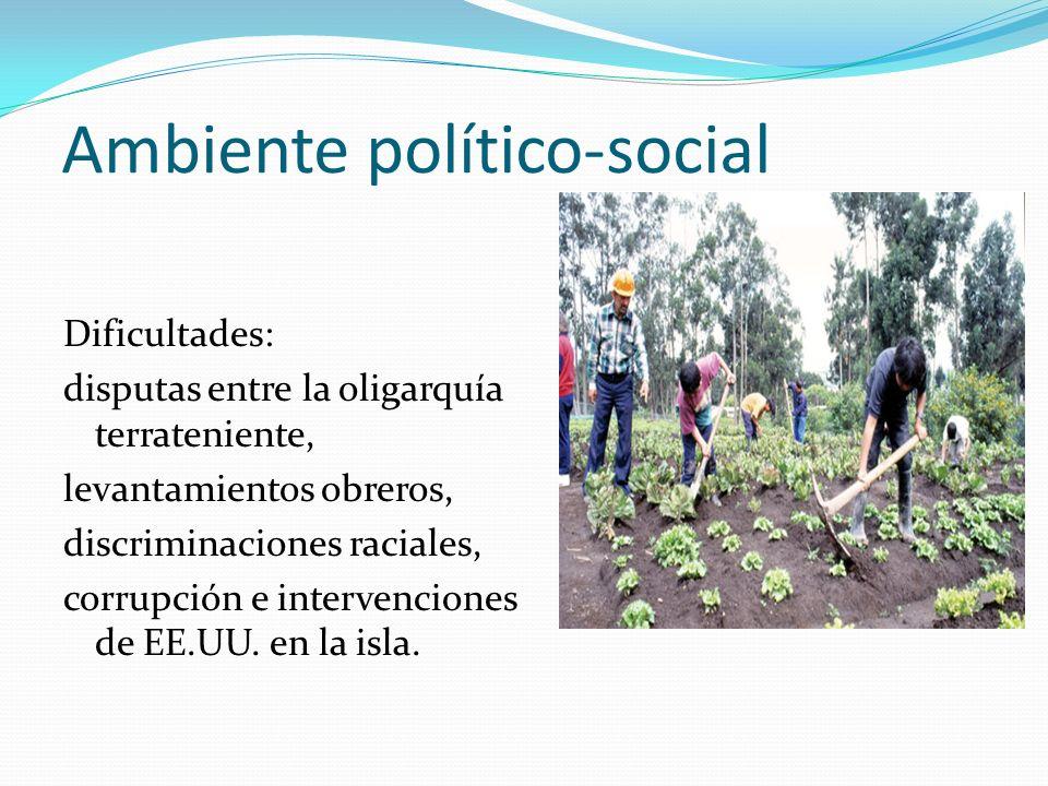 Ambiente político-social