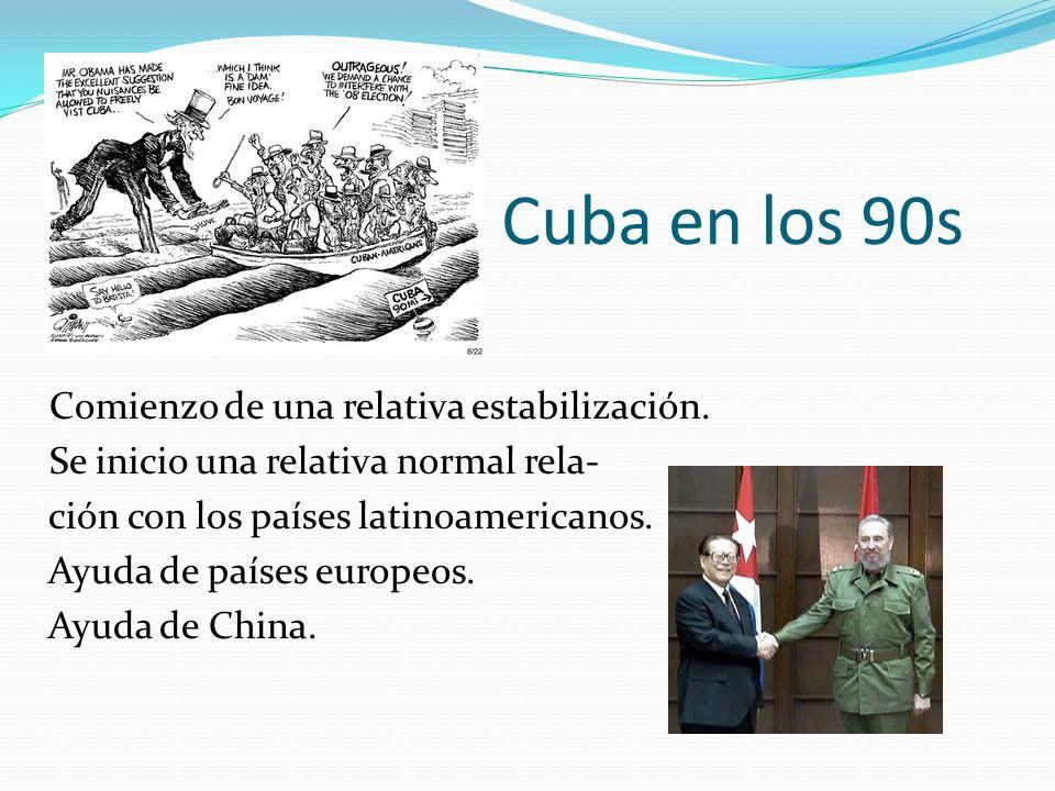 Cuba en los 90s