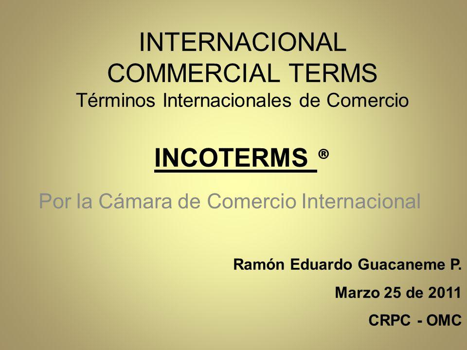 Por la Cámara de Comercio Internacional