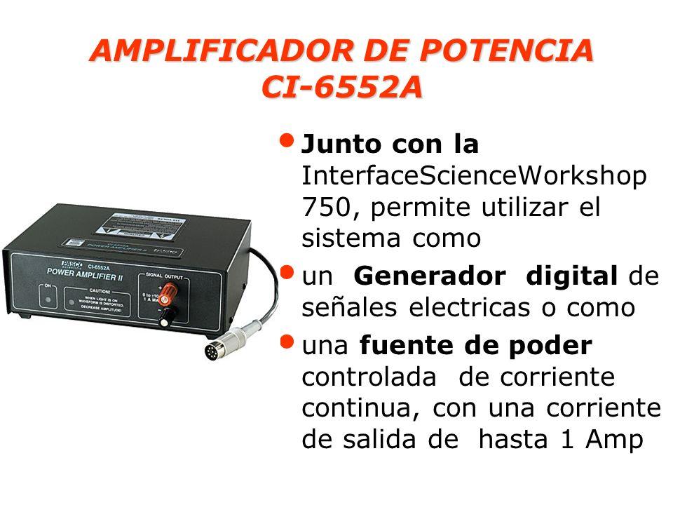AMPLIFICADOR DE POTENCIA CI-6552A