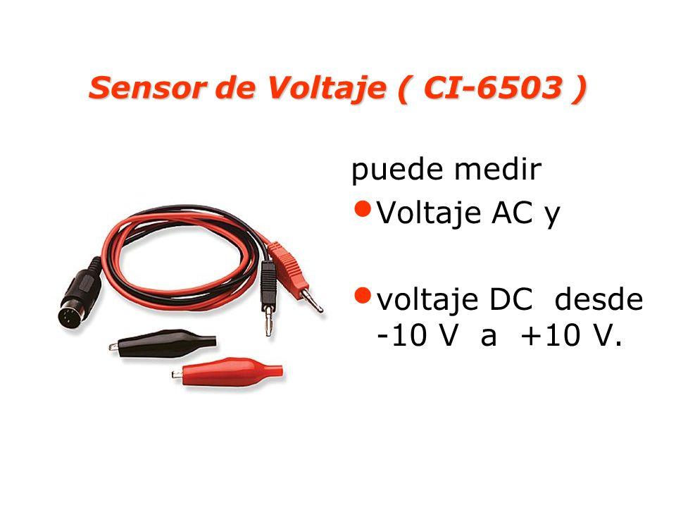 Sensor de Voltaje ( CI-6503 )