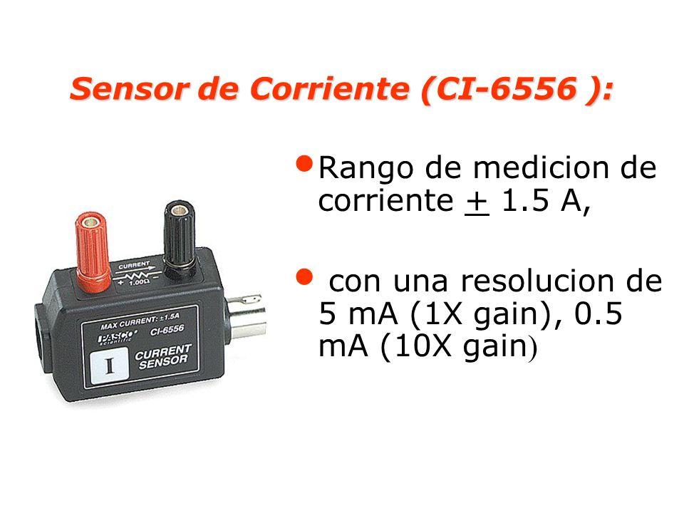 Sensor de Corriente (CI-6556 ):