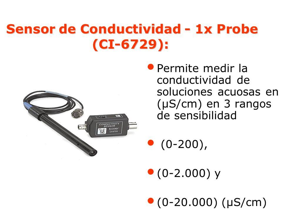 Sensor de Conductividad - 1x Probe (CI-6729):