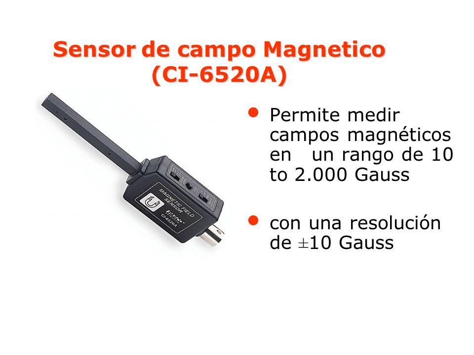 Sensor de campo Magnetico (CI-6520A)