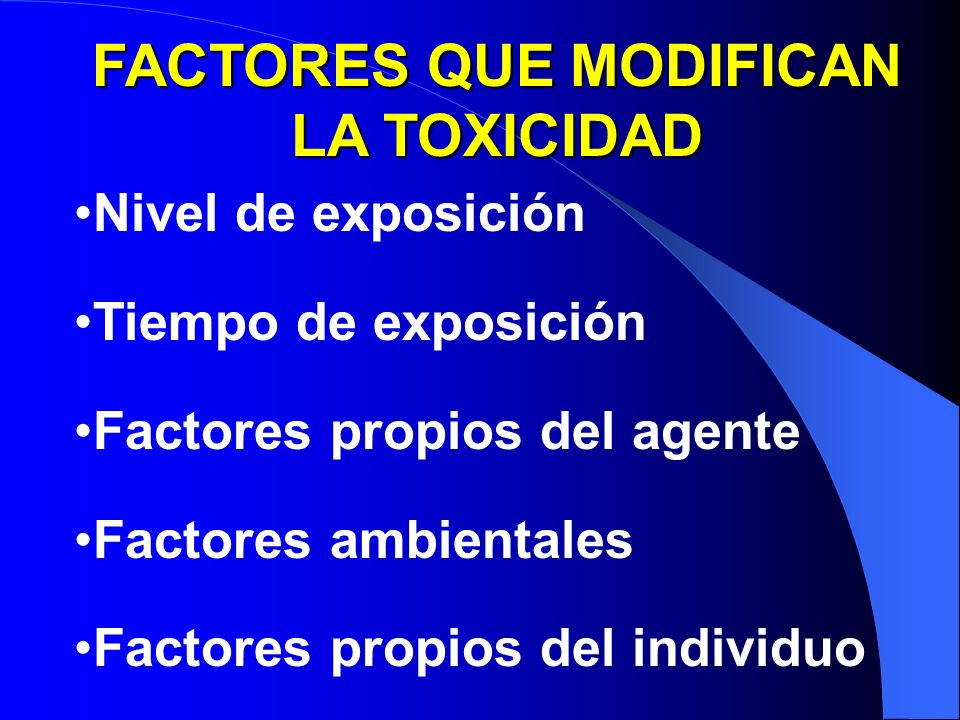 FACTORES QUE MODIFICAN