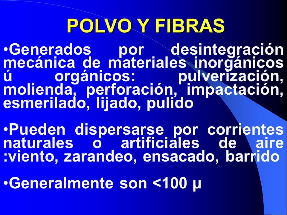 POLVO Y FIBRAS
