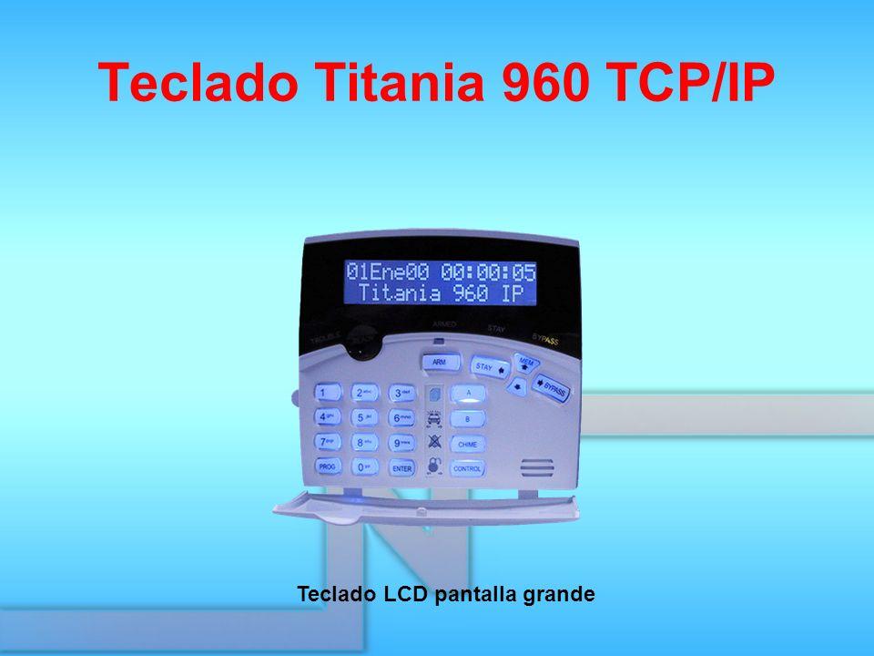 Teclado Titania 960 TCP/IP