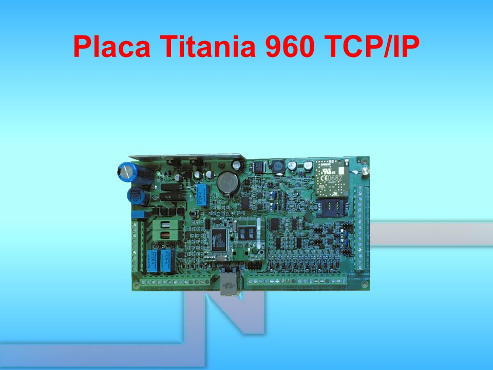 Placa Titania 960 TCP/IP