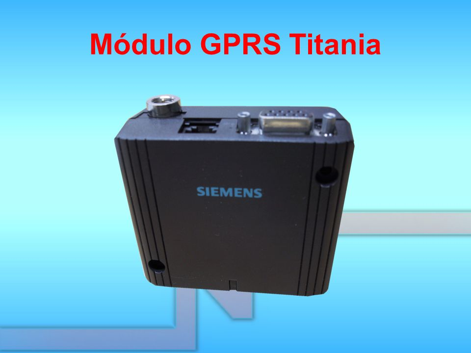 Módulo GPRS Titania