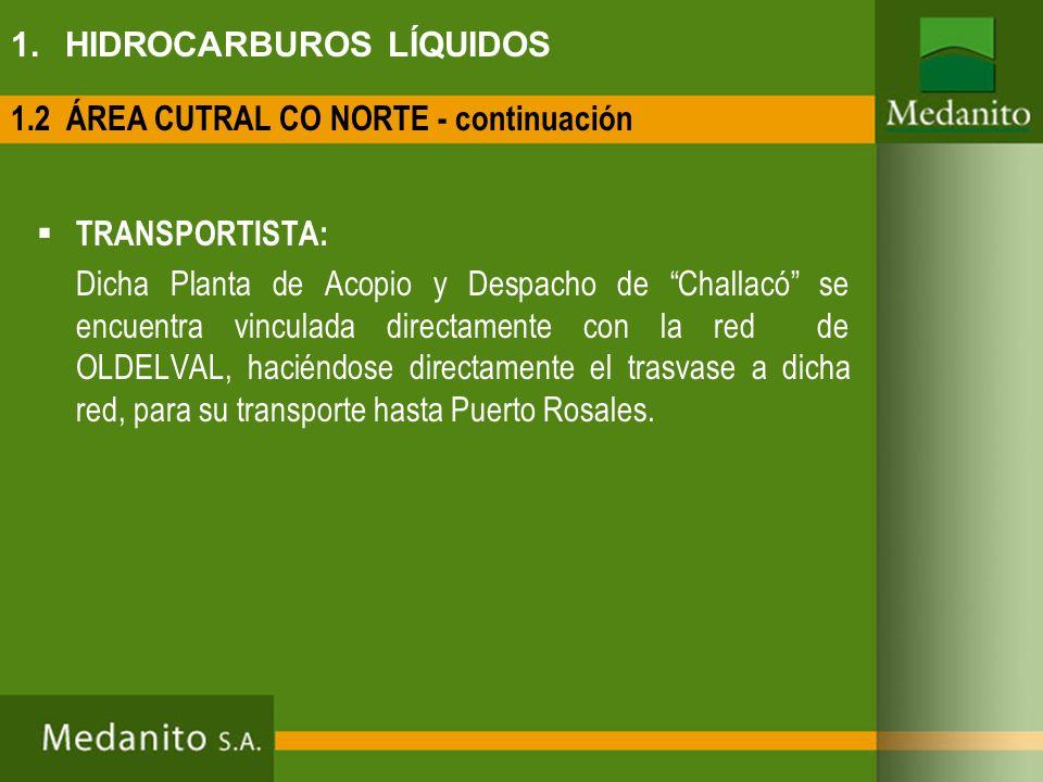 1. HIDROCARBUROS LÍQUIDOS