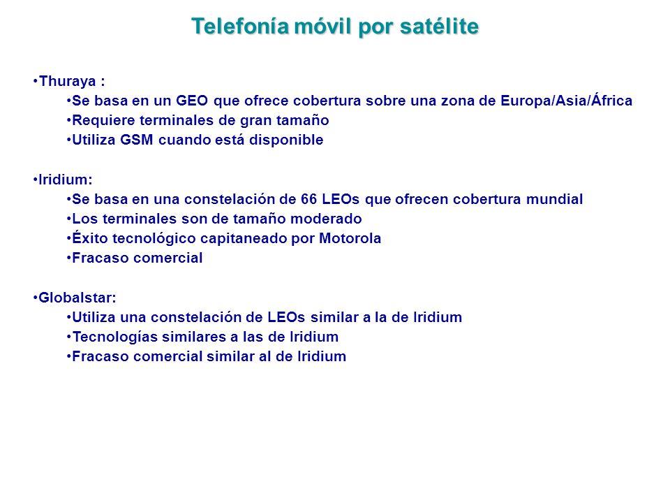 Telefonía móvil por satélite