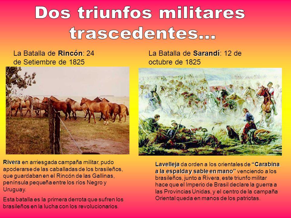 Dos triunfos militares