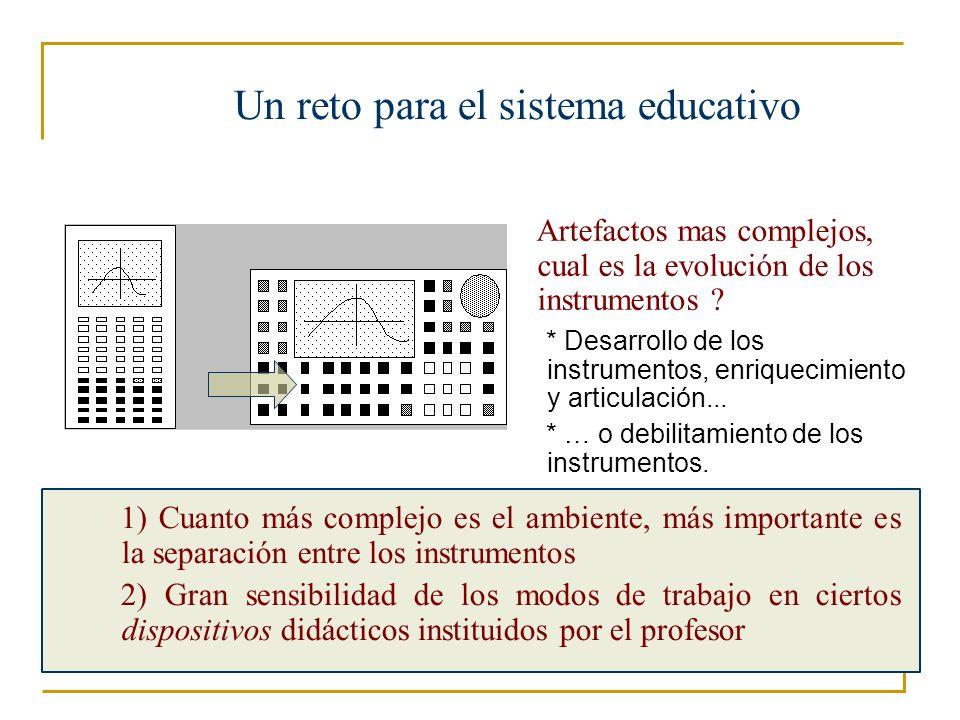 Un reto para el sistema educativo