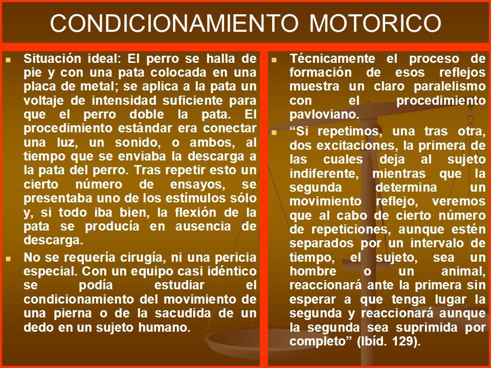 CONDICIONAMIENTO MOTORICO