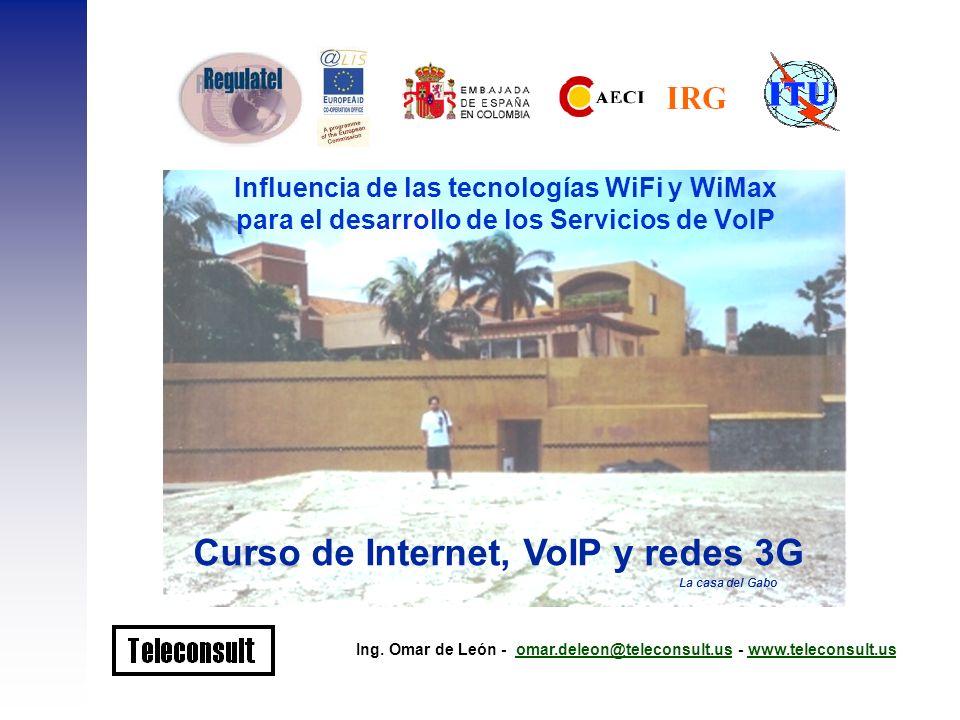 Curso de Internet, VoIP y redes 3G
