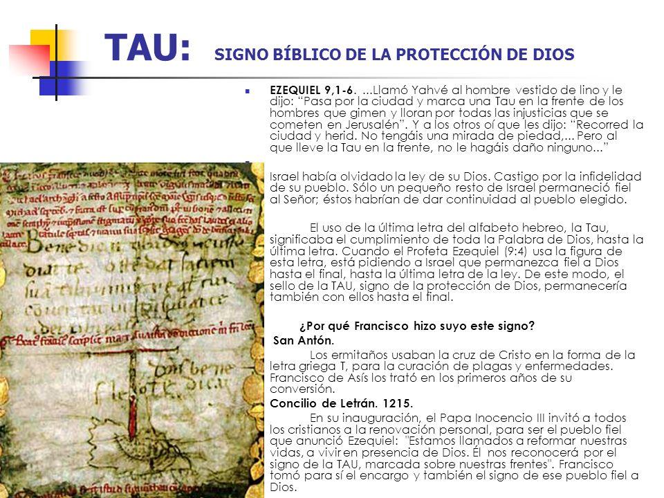 TAU: SIGNO BÍBLICO DE LA PROTECCIÓN DE DIOS
