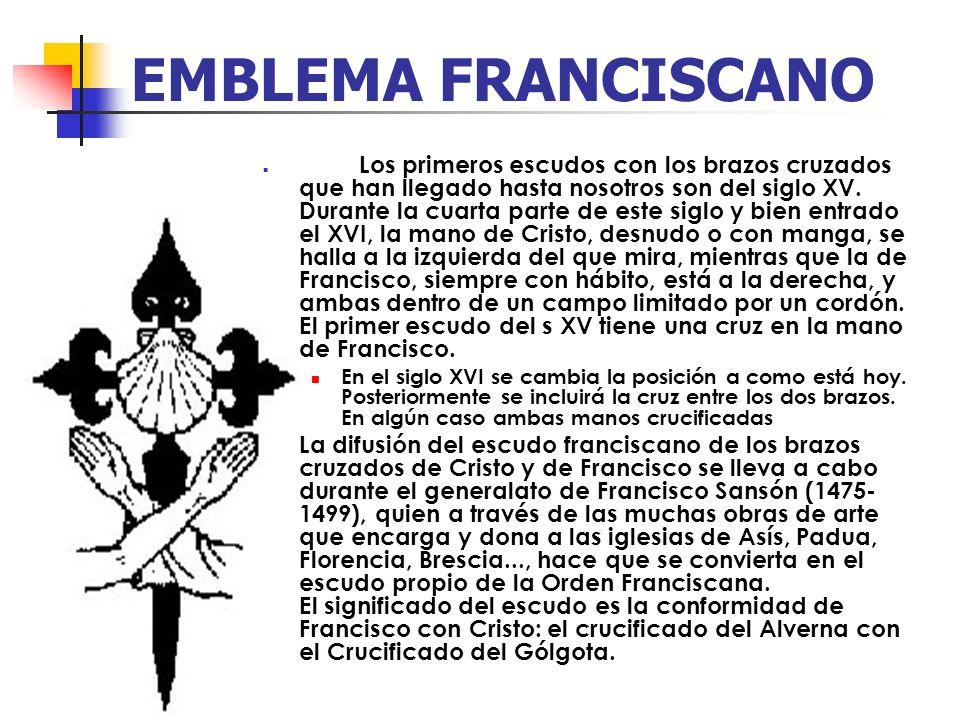 EMBLEMA FRANCISCANO