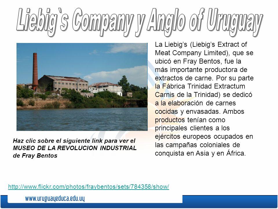 Liebig`s Company y Anglo of Uruguay