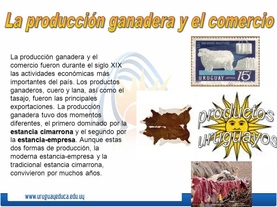 La producción ganadera y el comercio