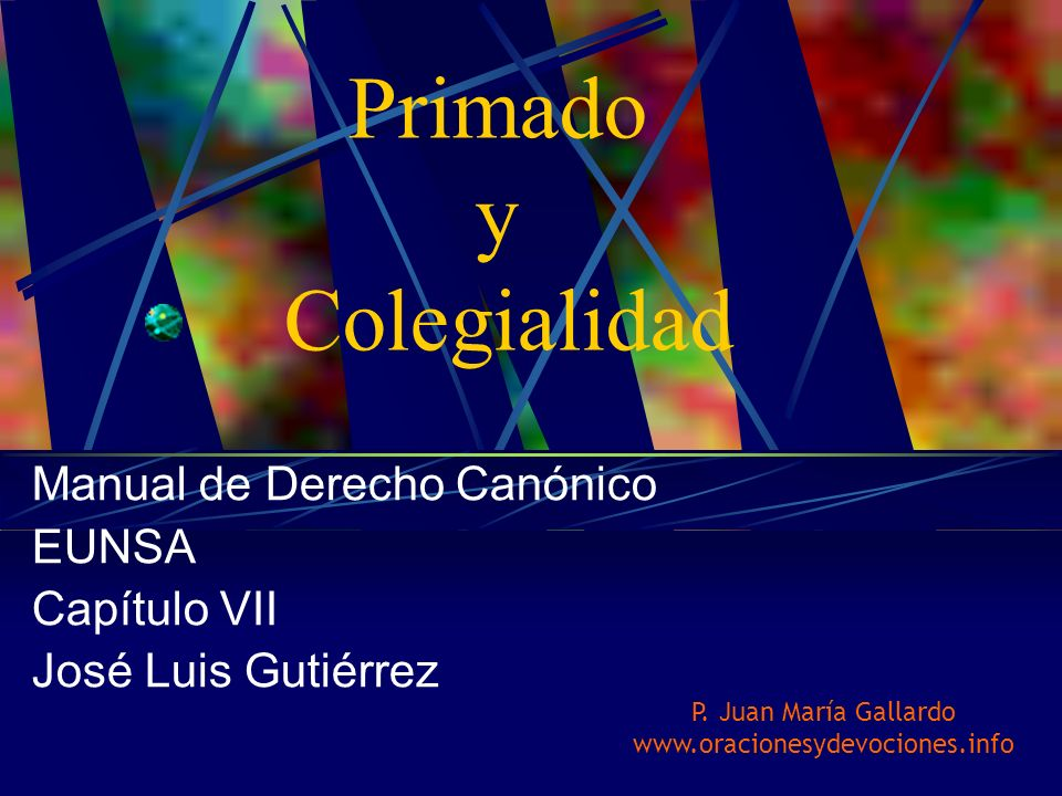 Manual de Derecho Canónico EUNSA Capítulo VII José Luis Gutiérrez
