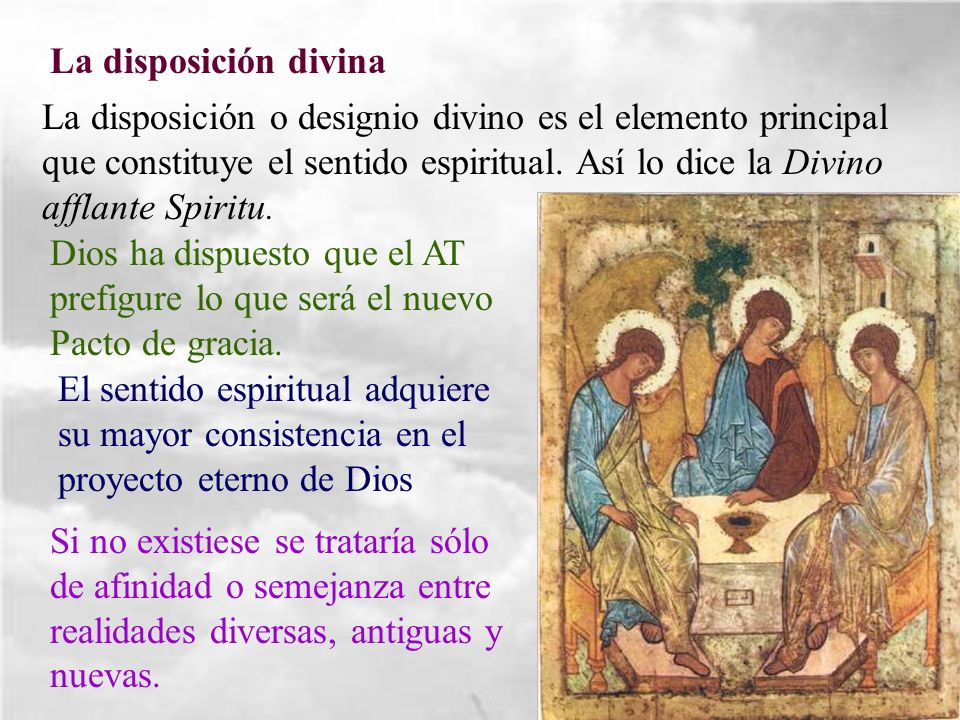 La disposición divina