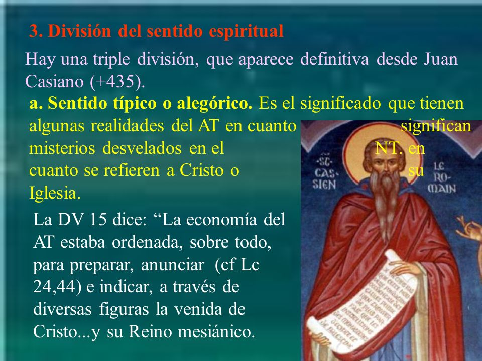 3. División del sentido espiritual
